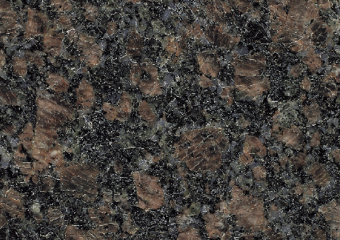sapphire brown granite close up